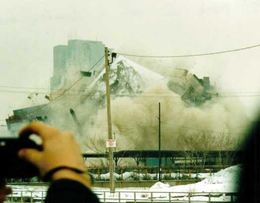North America Rail Photography implosion cn